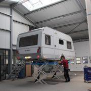 Caravanhoff bovag onderhoud werkplaats